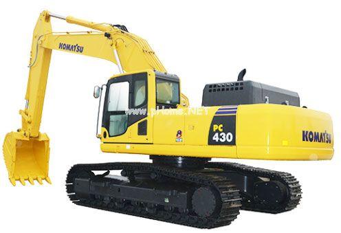 小松pc430-8挖机大量冒蓝烟且下排气大未及时处理导致发动机报废大修?