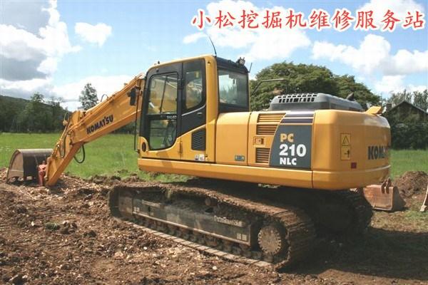 小松挖掘机发动机转速下降过大或发动机掉速