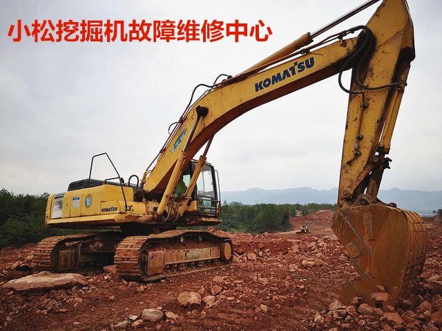 四川德阳小松挖掘机泵周围异常噪声