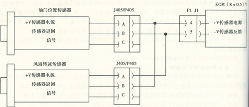 小松挖掘机数字传感器的电源供给--------故障快修电