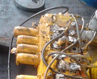 挖掘机回转液压马达组成小松挖掘机回转液压马达工作原理小松挖掘机pc