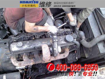 维修发动机图片